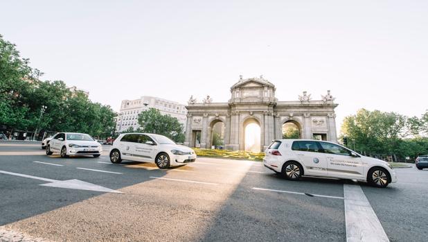 Prueba en Madrid el nuevo e-Golf