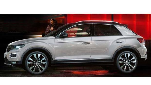 Este es el próximo SUV compacto de Volkswagen, el T-Roc