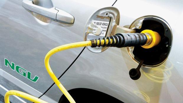 Cerca de 5.500 coches en España funcionan con gas natural
