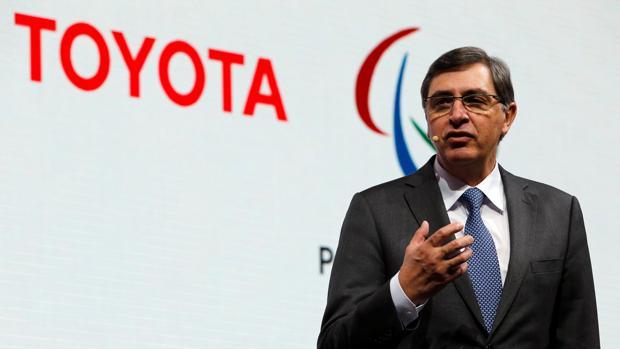 El presidente de Toyota Europa, Johan van Zyl