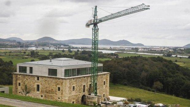 La casa que Herbert Diess está reformando en Cantabria
