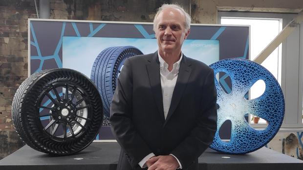Florent Menegaux (Michelin): «El neumático del futuro se debería poder comer»