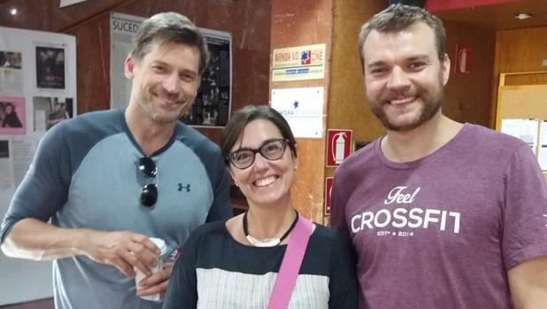 Una fan se encontró a Jaime Lannister y Euron Greyjoy en el cine