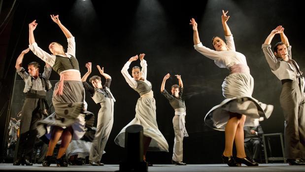 «... Aquel Silverio», del Ballet Flamenco de Andalucía
