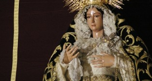Repuesta al culto la Virgen de la Cabeza tras la restauración de Pedro Manzano