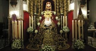 La Virgen de la O abre los besamanos dedicados a la Expectación de la Virgen