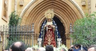 Pese al tiempo, la Virgen de la Cabeza visitó a su homóloga en San Juan de la Palma