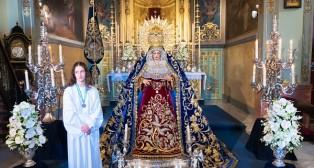 Besamanos de la Inmaculada: La Virgen de los Ángeles se reencontró con Rodríguez Ojeda