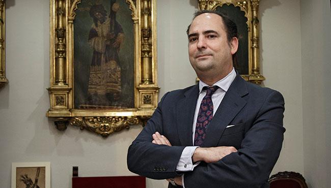 Félix Ríos, hermano mayor del Gran Poder