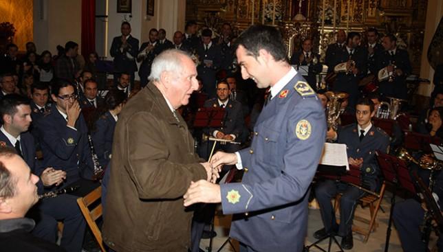 José Ignacio Cansino con el que fuera director Enrique García