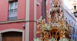 La Virgen de la Alegría por las calles de San Bartolomé/ J. A. BANDERA