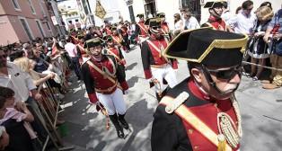 Músicos de la Agrupación musical Virgen de los Reyes/ ABC