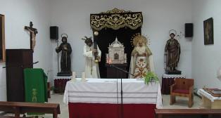 Los titulares de San José Obrero en los salones parroquiales