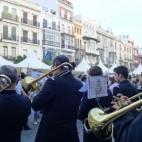 La Iglesia de Sevilla representada en una plaza: la Alegría del Evangelio