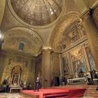 El interior de la Anunciación estrena iluminación artística