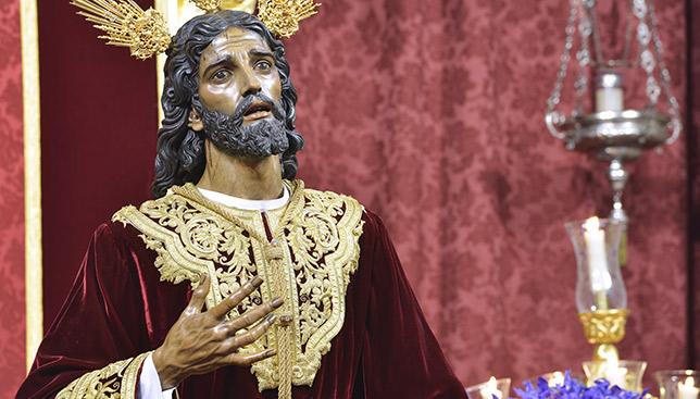 El Cristo de la Victoria de la hermandad de la Paz / CÉSAR LÓPEZ HALDÓN