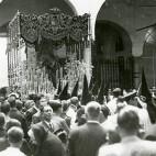 La Macarena en el hospital de las Cinco Llagas en 1937