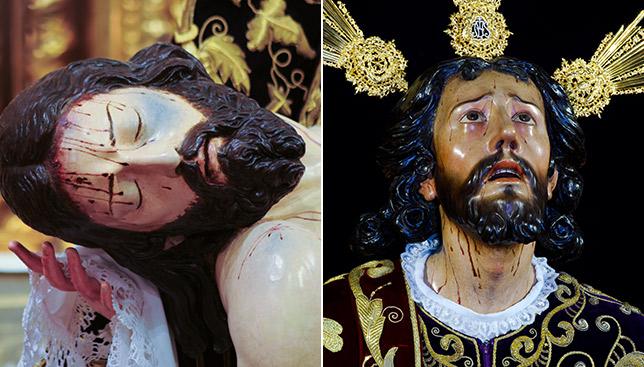 El Cristo de la Providencia de los Servitas y el de la Oración en el Huerto de Montesión