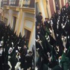 La bulla de la Macarena en la calle Cuna / IGNACIO OLLERO