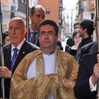 Marcelino Manzano en la procesión de impedidos de San Vicente / M. J. RODRIGUEZ RECHI