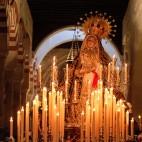 La Virgen de los Dolores en la Mezquita de Córdoba / ROLDÁN SERRANO