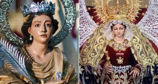 Las Mercedes de la Puerta Real y Santa Lucía saldrán en procesión este fin de semana/ J. A. BANDERA