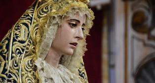 Virgen de la Concepción del Silencio en su besamanos extraordinario / JOSÉ JAVIER COMAS RODRÍGUEZ