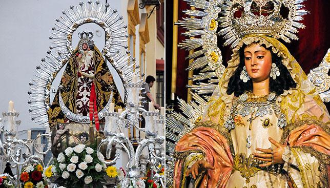 La Virgen de la Cabeza y la Encarnación de la Cena saldrán en procesión/ J. A. BANDERA