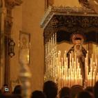 Virgen de Montserrat en su paso de palio / ABC