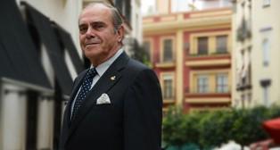 Alfonso Medina, hermano mayor de San Roque / JOSÉ JAVIER COMAS RODRÍGUEZ