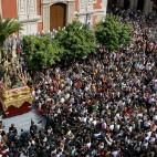 La Borriquita bajando la rampa del Salvador / J. M. SERRANO