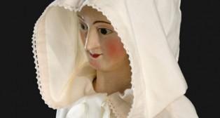 Primera foto de la Virgen del Castillo de Lebrija tras su restauración / IAPH