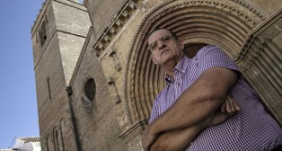 MIguel Ángel Pérez, hermano mayor de la Resurrección / JUAN FLORES
