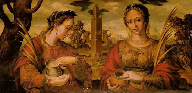 Santa Justa y Rufina, por Hernando de Esturmio, Catedral de Sevilla