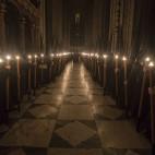 Nazarenos del Gran Poder en la Catedral / J.M. SERRANO