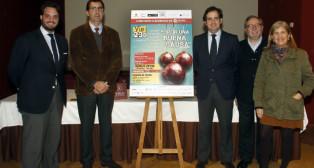 José Joaquin Gómez , Juan Miguel Bazaga, Jesús García, Mariano Pérez de Ayala y Amidea Navarro presentaron el cartel.