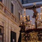 Salida del Cristo de la Expiración del Museo FOTO: JUAN FLORES
