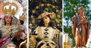 La Alegría, la Pastora y el Prado saldrán en procesión/ J. A. BANDERA