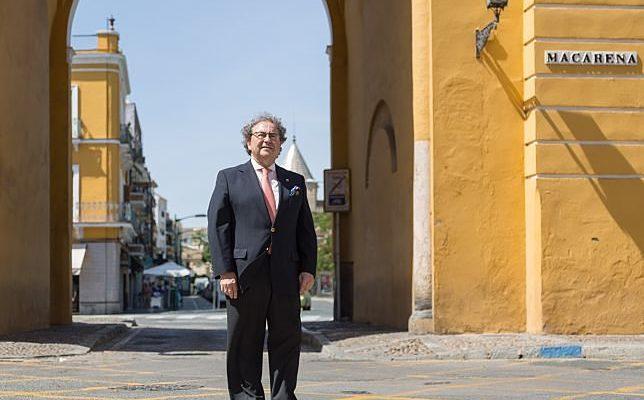 José Antonio Fernández Cabrero, candidato a ser hermano mayor de la Macarena.