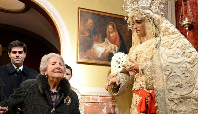 Ángeles Liñán, hermana número 1 de la Paz / M. A. OSUNA