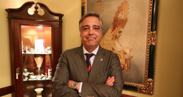 Guillermo Baena, candidato a hermano mayor de Montesión / FOTO: Tomás Quifes.