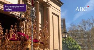 Así se abrió el Miércoles Santo con el Cristo de la Sed - Semana Santa de Sevilla 2018