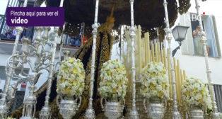 La salida de Nuestra Señora de la Palma de la hermandad de El Buen Fin - Semana Santa de Sevilla 2018