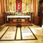 Tumba de Queipo de Llano en la basílica de la Macarena   Millán Herce