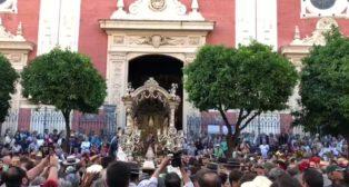 La hermandad del Rocío de Sevilla ya camina hacia la aldea almonteña