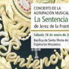 Concierto de AgrupaciónMusical La Sentencia de Jerez de la Frontera.