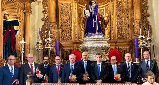 Reunión de los presidentes de los Consejos de Cofradías andaluces.