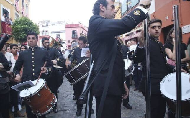 Banda del Carmen de Salteras. Foto: Rocío Ruz