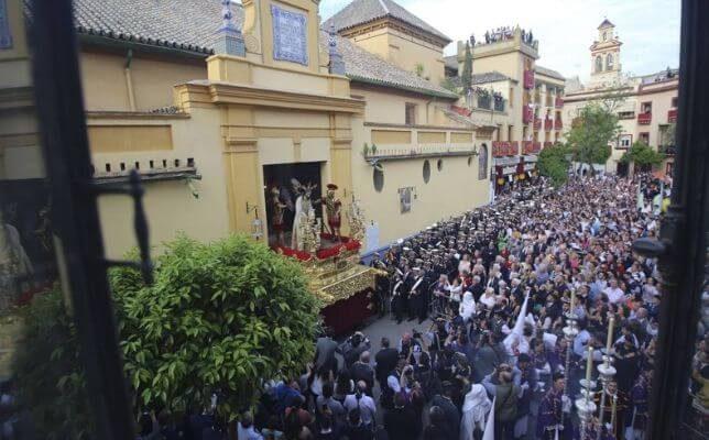 Banda del Cristo de las Tres Caídas de Triana. Foto: Rocío Ruz