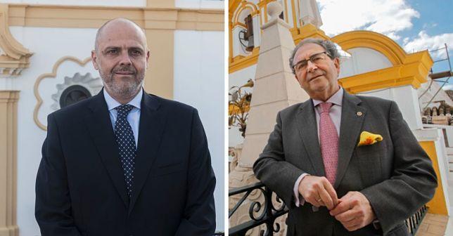 Sergio Sopeña y Fernández Cabrero, en dos entrevistas con ABC de Sevilla.